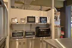 キッチン家電の様子2。(2015-03-02,共用部,KITCHEN,1F)
