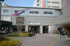 京王線・聖蹟桜ヶ丘駅の様子。(2015-02-21,共用部,ENVIRONMENT,1F)