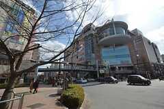 京王線・聖蹟桜ヶ丘駅前の様子。(2015-02-21,共用部,ENVIRONMENT,1F)