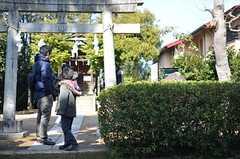 徒歩圏内にある神社。(2015-02-21,共用部,ENVIRONMENT,1F)