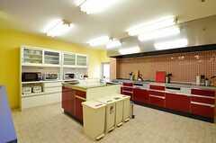 キッチンの様子。(2012-04-18,共用部,KITCHEN,)