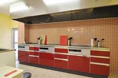 キッチンの様子3。(2012-04-18,共用部,KITCHEN,)
