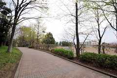 駅からの道のりはのんびりとしています。(2012-04-18,専有部,ROOM,1F)