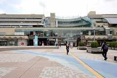 京王線・京王永山駅周辺の様子。(2012-04-18,共用部,ENVIRONMENT,1F)