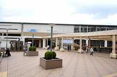 小田急線・小田急永山駅の様子(2012-04-18,共用部,ENVIRONMENT,1F)