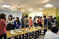 イスラエル料理パーティの様子。(2012-04-22,共用部,PARTY,)