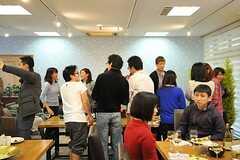イスラエル料理パーティの様子2。(2012-04-22,共用部,PARTY,)