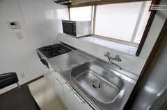 キッチンの様子。(2011-09-16,共用部,KITCHEN,1F)