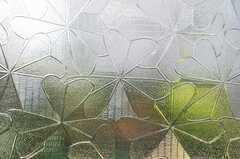 型板ガラスも綺麗です。(2009-08-17,共用部,OTHER,1F)
