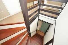 階段の様子。(2009-08-17,共用部,OTHER,2F)