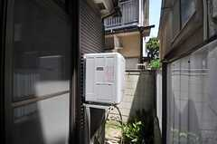 庭には乾燥機が設置されています。(2013-07-23,共用部,OTHER,1F)