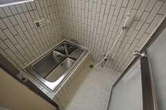 バスルームの様子。(2013-07-23,共用部,BATH,1F)