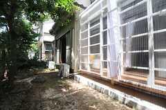 庭の様子。(103号室)(2013-07-23,専有部,ROOM,1F)
