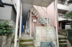 階段の様子。(2009-06-04,共用部,OTHER,1F)
