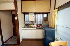 キッチンの様子。(201号室)(2009-06-04,共用部,KITCHEN,2F)