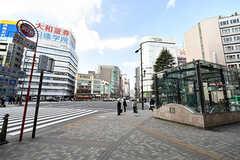 東京メトロ・池袋駅の出入り口の様子。(2017-03-29,共用部,ENVIRONMENT,1F)