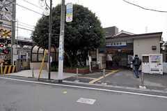 東武東上線・北池袋駅の様子。(2012-02-15,共用部,ENVIRONMENT,1F)