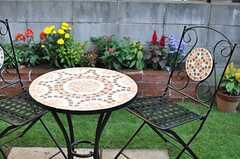 テーブル&チェアの様子。(2013-10-28,共用部,OTHER,1F)