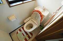 ウォシュレット付きトイレの様子。(2013-10-28,共用部,TOILET,1F)