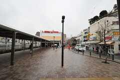西武池袋線・東長崎駅前の様子。(2014-04-03,共用部,ENVIRONMENT,1F)