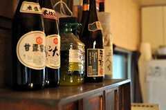 棚の上にはお酒がずらり。(2012-02-15,共用部,LIVINGROOM,1F)