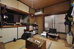 専有部の様子。※備品は住人さんの物です。(101号室)(2012-02-15,専有部,ROOM,1F)