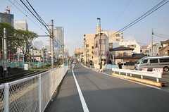 各線・雑司が谷駅からシェアハウスへ向かう道の様子。(2014-04-09,共用部,ENVIRONMENT,1F)