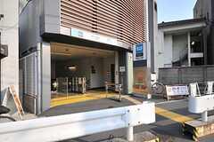各線・雑司が谷駅の様子。(2014-04-09,共用部,ENVIRONMENT,1F)