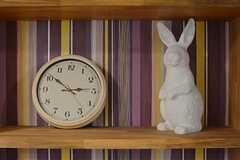 ウサギと時計と言えば…?(2015-03-31,共用部,LIVINGROOM,1F)