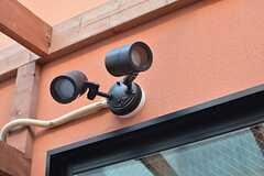 夜も使用できるよう、照明が取り付けられています。(2015-03-31,共用部,OTHER,1F)