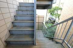 階段の様子。(2013-02-14,共用部,OTHER,3F)