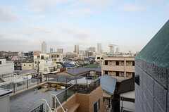階段からの景色。(2013-02-14,共用部,OTHER,5F)