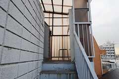501号室へ続く階段の様子。(2013-02-14,共用部,OTHER,5F)