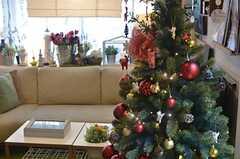 立派なツリーです。(2013-12-09,共用部,LIVINGROOM,2F)