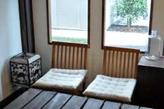 シェアハウスのリビングの様子4。(2010-06-22,共用部,LIVINGROOM,1F)