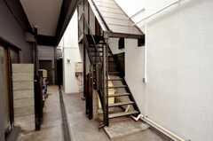 階段の様子。(2010-02-09,共用部,OTHER,1F)