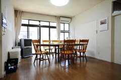 シェアハウスのリビングの様子。(2010-08-06,共用部,LIVINGROOM,1F)