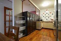 キッチンの様子。(2014-12-13,共用部,KITCHEN,1F)