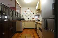 キッチンの様子2。(2014-12-13,共用部,KITCHEN,1F)