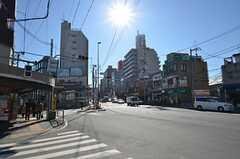 東京メトロ丸の内線・新大塚駅の周辺の様子。(2014-12-13,共用部,ENVIRONMENT,2F)