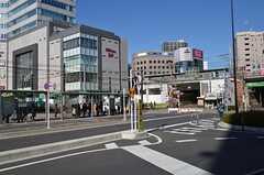 各線・大塚駅の周辺の様子。(2014-12-13,共用部,ENVIRONMENT,2F)