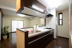 キッチンの様子2。(2013-02-14,共用部,KITCHEN,1F)