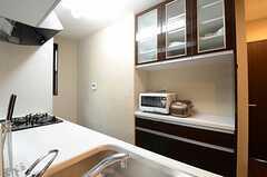 キッチン収納の様子。(2013-02-14,共用部,KITCHEN,1F)