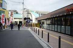 西武池袋線・江古田駅周辺の様子。(2013-02-14,共用部,ENVIRONMENT,1F)