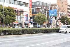 各線・要町駅周辺の様子。(2017-01-23,共用部,ENVIRONMENT,1F)
