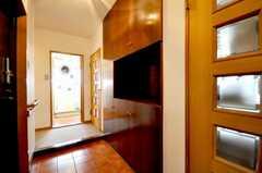 内部から見た玄関周りの様子。(2010-02-09,周辺環境,ENTRANCE,4F)