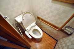 トイレの様子。(2010-02-09,共用部,TOILET,4F)