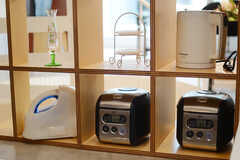 キッチン家電の様子。(2011-09-26,共用部,KITCHEN,1F)
