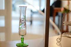 ガラスの一輪挿し。(2011-09-26,共用部,OTHER,1F)
