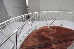 屋上では物干しも可能です。(2011-09-26,共用部,OTHER,3F)